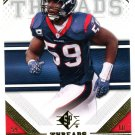 2009 SP Threads Football Card #28 DeMeco Ryans