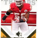 2009 SP Threads Football Card #29 Derrick Johnson