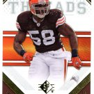 2009 SP Threads Football Card #32 D'Qwell Jackson