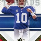 2009 SP Threads Football Card #37 Eli Manning