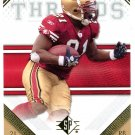 2009 SP Threads Football Card #38 Frank Gore