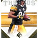2009 SP Threads Football Card #40 Hines Ward