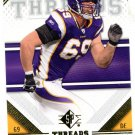 2009 SP Threads Football Card #44 Jared Allen