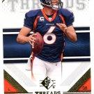 2009 SP Threads Football Card #46 Jay Cutler