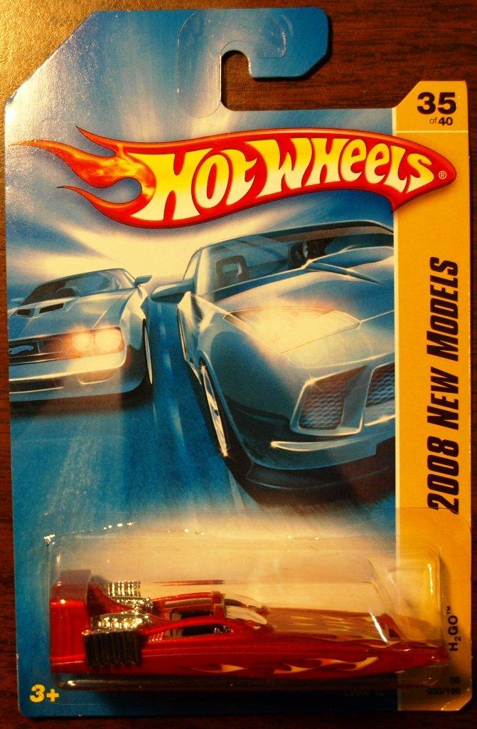 2008 Hot Wheels #35 H2GO