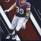 2016 Absolute Football Card Blue Parallel #14 J J Watt