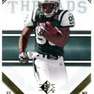 2009 SP Threads Football Card #49 Jericho Cotchery