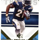 2009 SP Threads Football Card #58 LaDainian Tomlinson