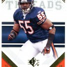 2009 SP Threads Football Card #59 Lance Briggs