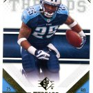2009 SP Threads Football Card #64 LenDale White