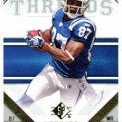 2009 SP Threads Football Card #81 Reggie Wayne