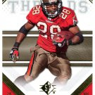 2009 SP Threads Football Card #97 Warrick Dunn
