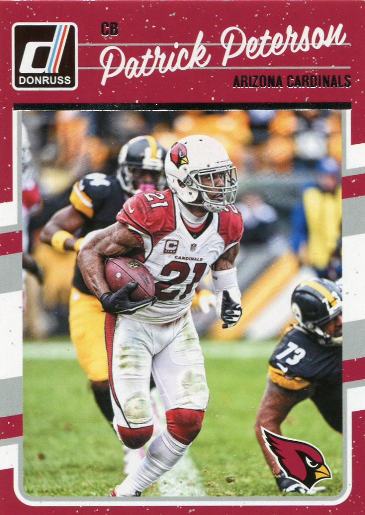 2016 Donruss Football Card #8 Patrick Peterson