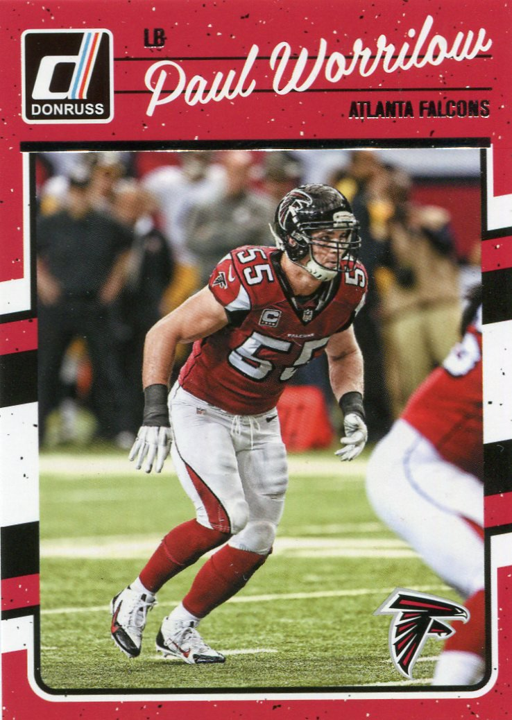 2016 Donruss Football Card #17 Paul Worrilow
