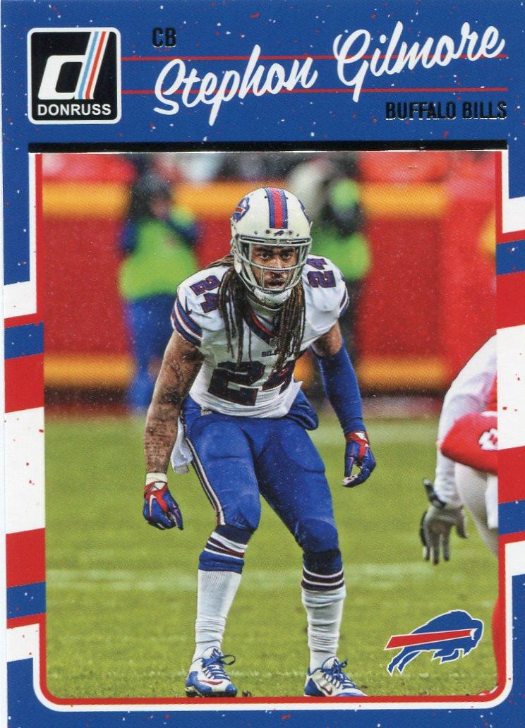 2016 Donruss Football Card #36 Stephon Gilmore