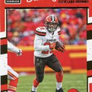 2016 Donruss Football Card #69 Duke Johnson