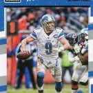 2016 Donruss Football Card #96 Matthew Stafford