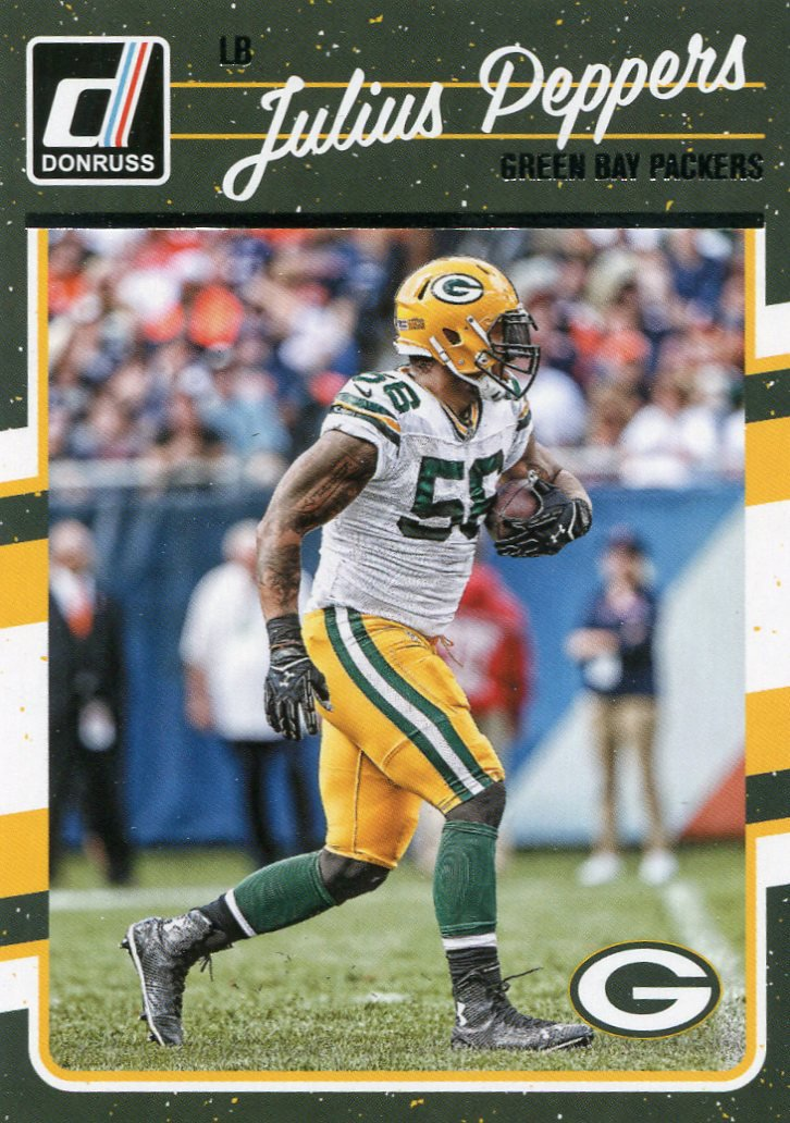 2016 Donruss Football Card #112 Julius Peppers