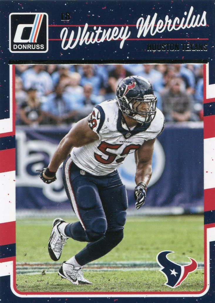 2016 Donruss Football Card #122 Whitney Mercilus