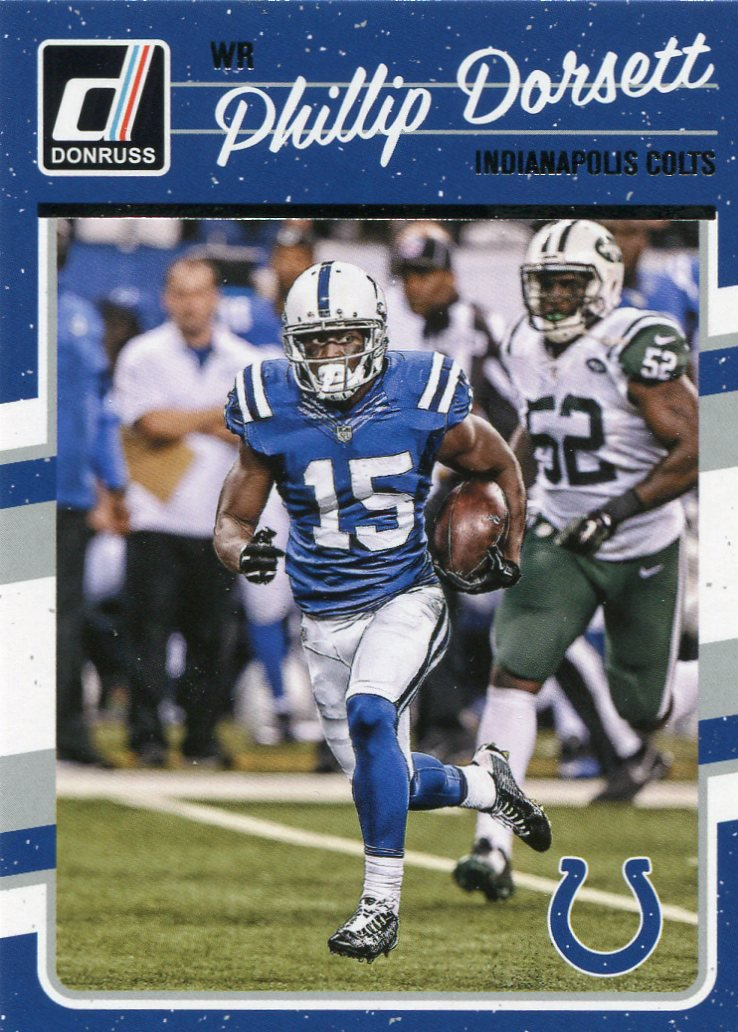 2016 Donruss Football Card #129 Phillip Dorsett