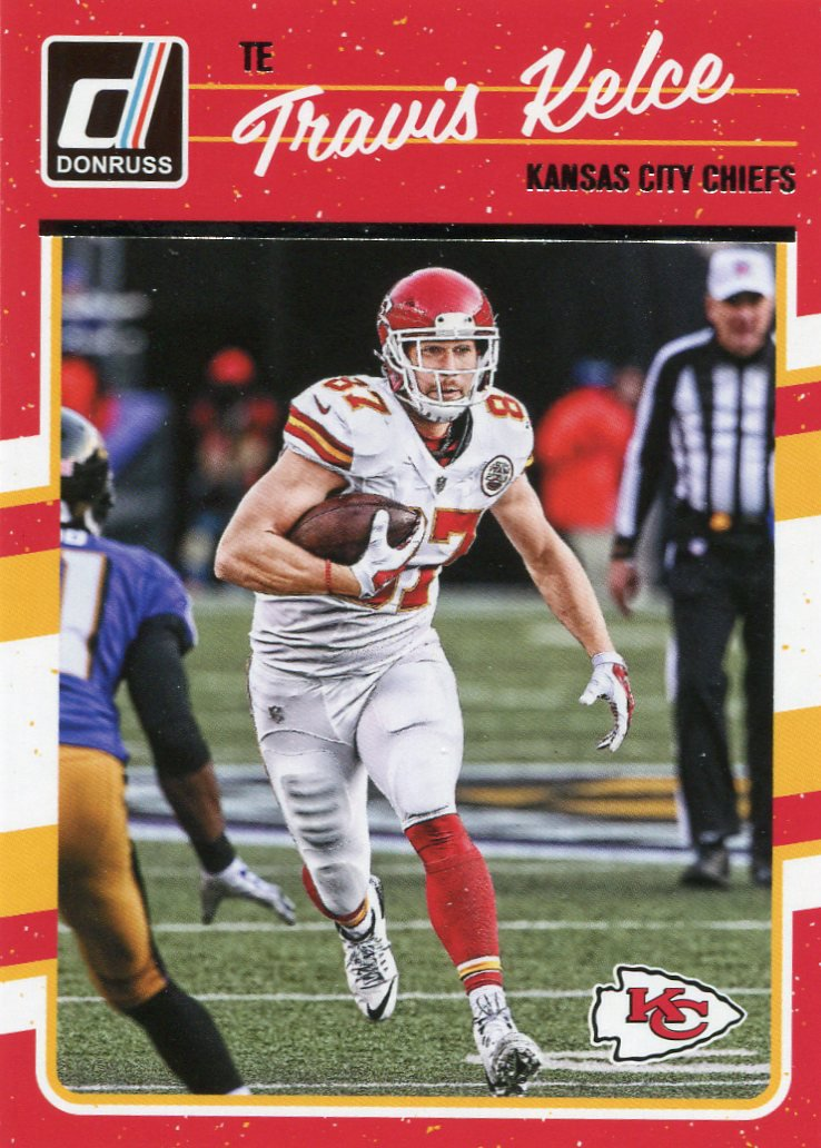 2016 Donruss Football Card #147 Travis Kelce