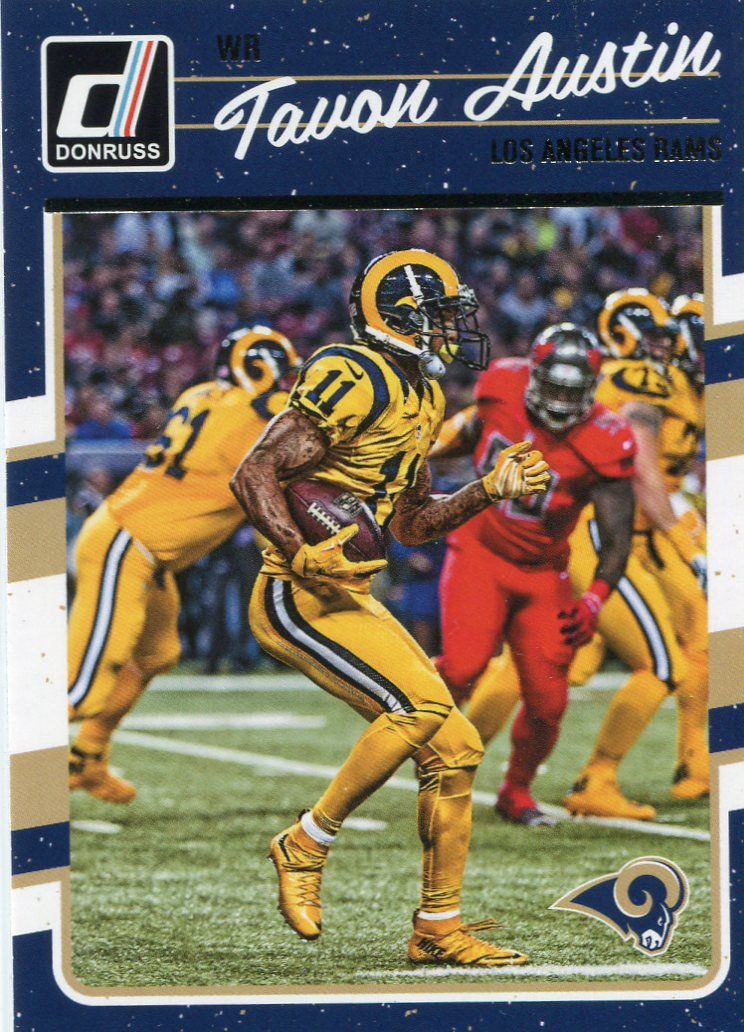 2016 Donruss Football Card #156 Tavon Austin