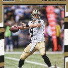 2016 Donruss Football Card #189 Drew Brees