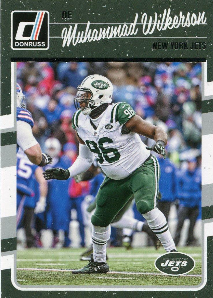 2016 Donruss Football Card #214 Muhammad Wilkerson