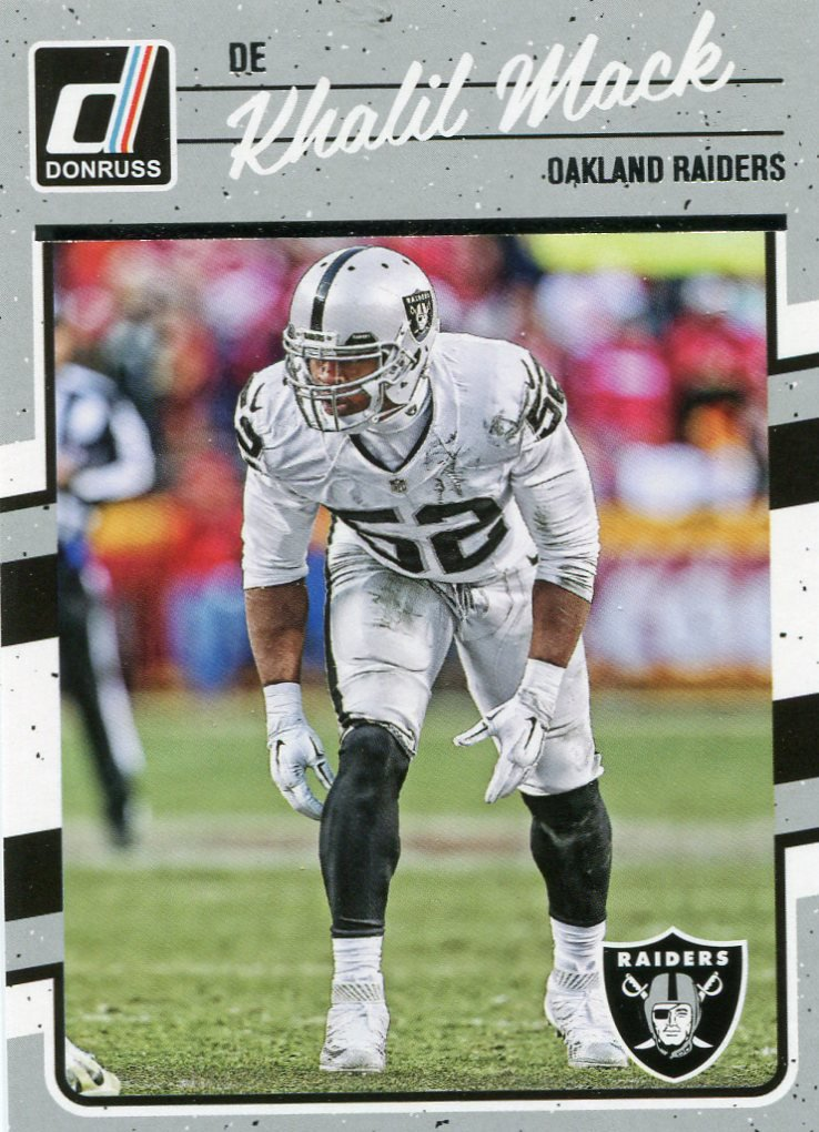 2016 Donruss Football Card #222 Khalil Mack