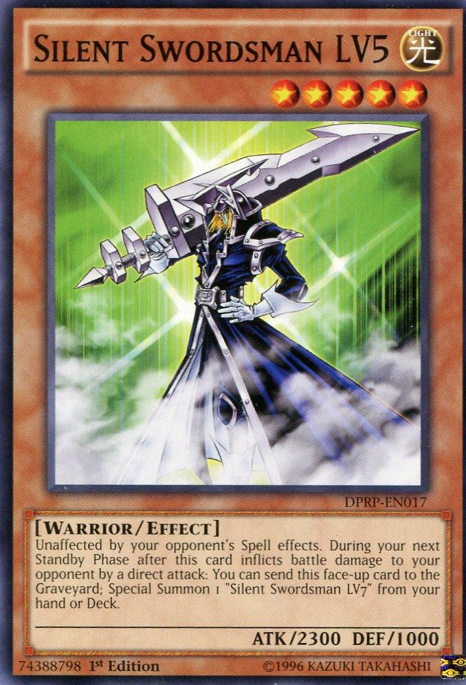 Yugioh Duelist Pack Rivals of the Pharaoh Silent Swordsman LV5, DPRP-EN017
