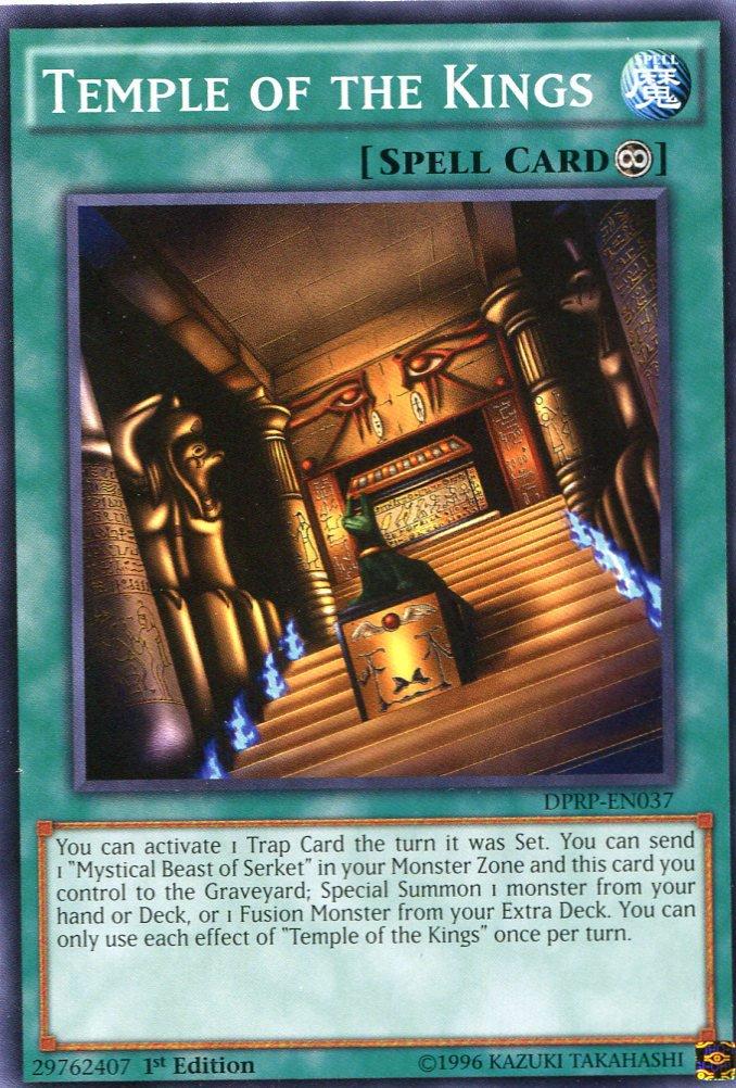 Yugioh Duelist Pack Rivals of the Pharaoh Temple of the Kings DPRP-EN037