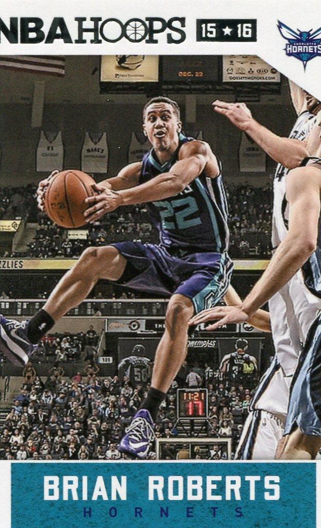 2015 Hoops Basketball Card #47 Brian Roberts