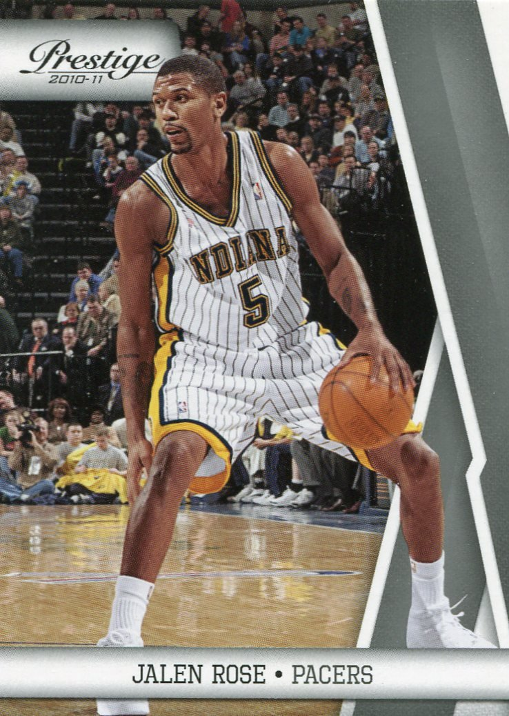 2010 Prestige Basketball Card #129 Jalen Rose