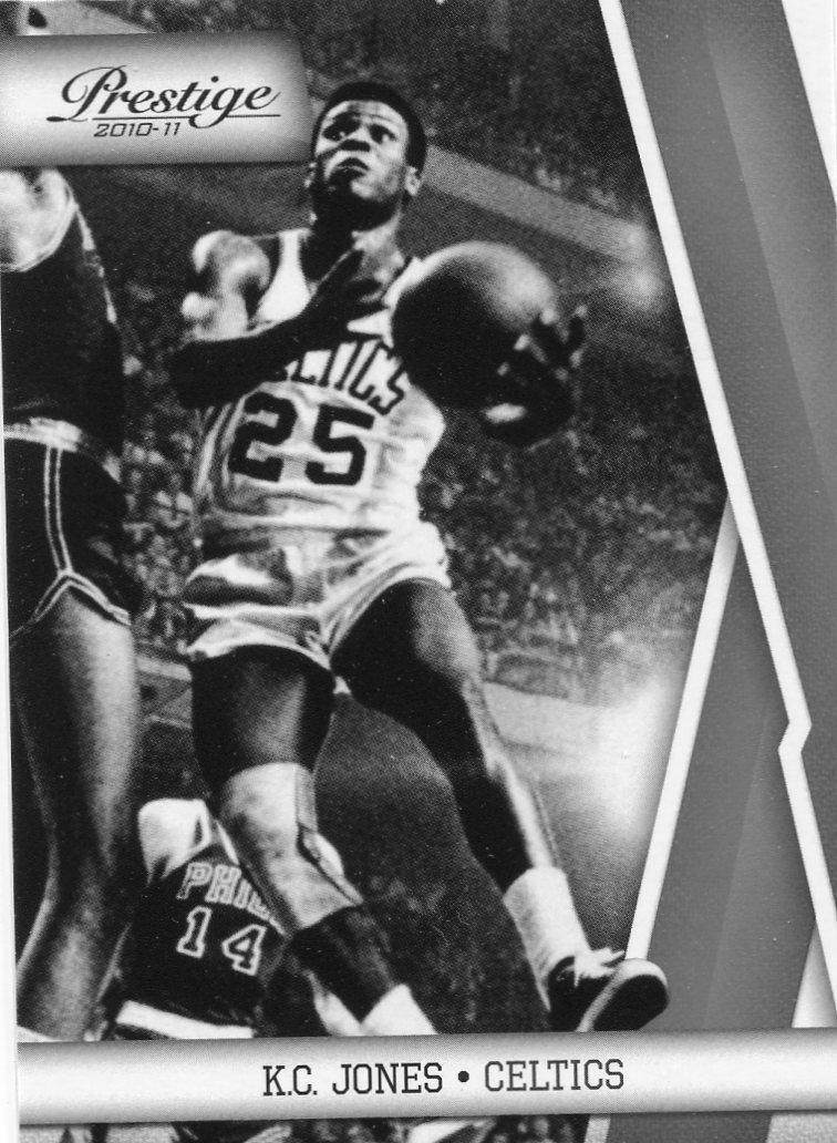 2010 Prestige Basketball Card #134 K C Jones