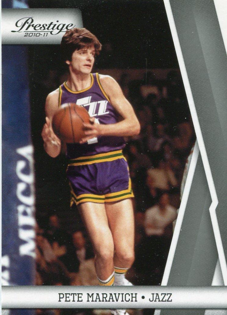 2010 Prestige Basketball Card #146 Pete Maravich