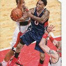 2015 Hoops Basketball Card #73 Jeff Teague