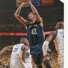 2015 Hoops Basketball Card #85 Alexis Ajinca