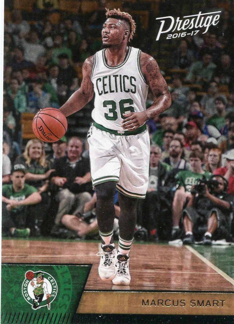 2016 Prestige Basketball Card #81 Marcus Smart