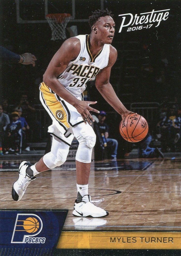 2016 Prestige Basketball Card #111 Myles Turner