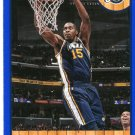 2013 Hoops Basketball Card Blue Parallel #162 Derrick Favors