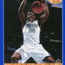 2013 Hoops Basketball Card Blue Parallel #186 Kenneth Faried