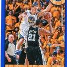 2013 Hoops Basketball Card Blue Parallel #212 Andris Biedrins