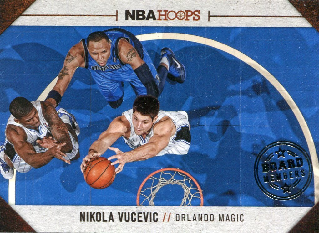 2013 Hoops Basketball Card Board Members #12 Nikola Vucevic