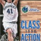 2013 Hoops Basketball Card Class Action #15 Dirk Nowitzki