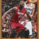 2013 Hoops Basketball Card Gold Parallel #82 Udonis Haslem