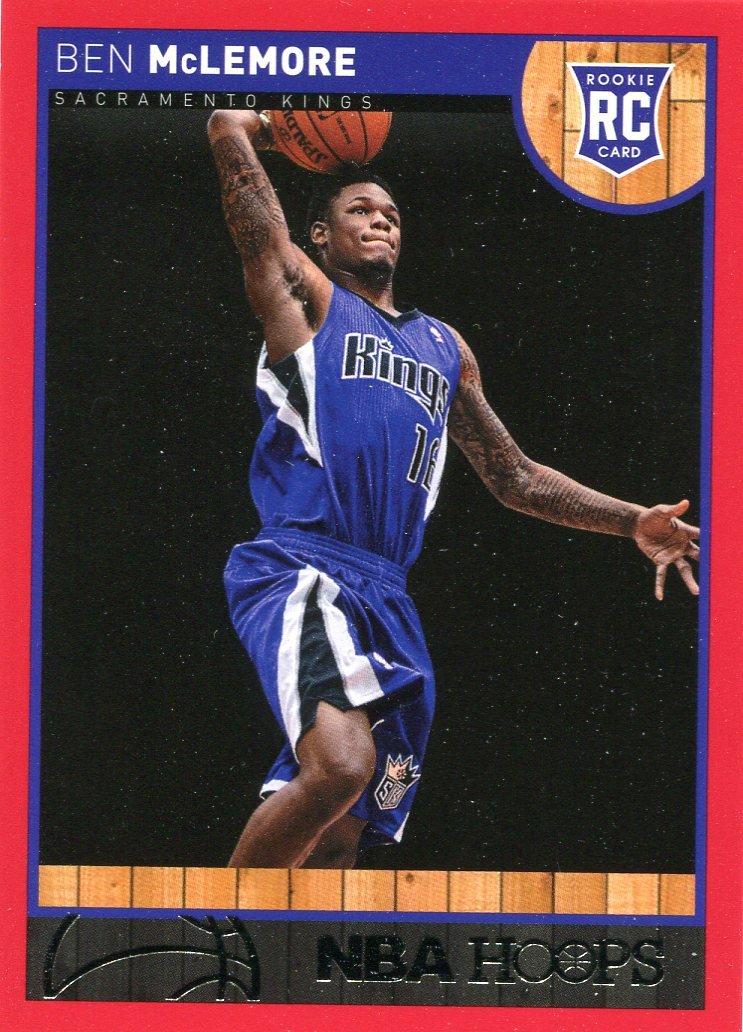 2013 Hoops Basketball Card Red Parallel #267 Ben McLemore