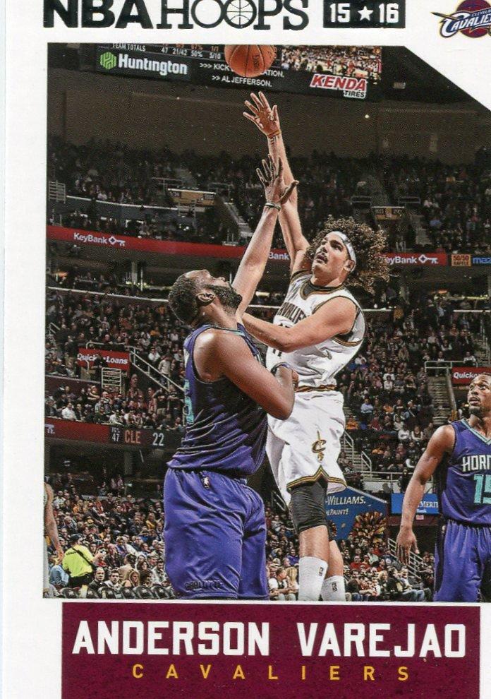 2015 Hoops Basketball Card #105 Anderson Verejao