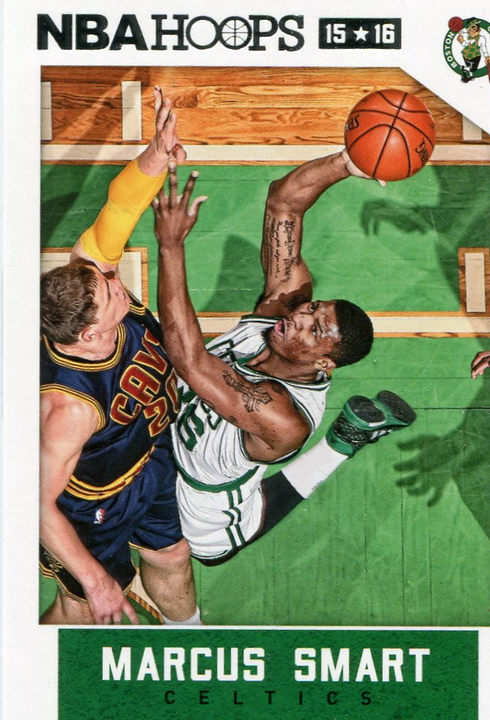 2015 Hoops Basketball Card #114 Marcus Smart