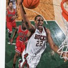2015 Hoops Basketball Card #142 Khris Middleton
