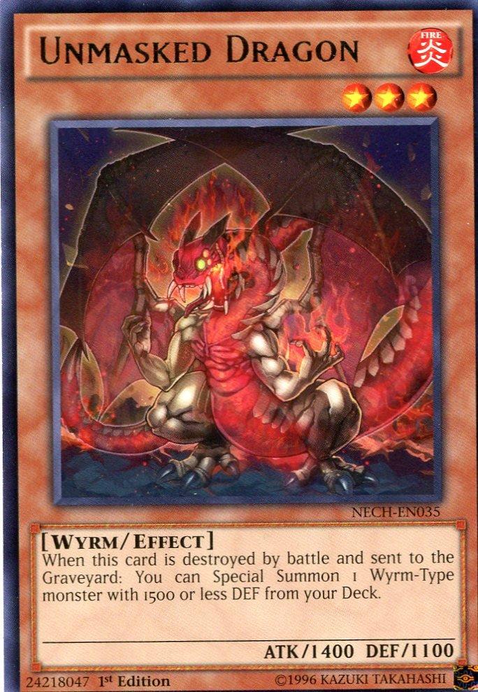 Yugioh Duelist New Challengers, Unmasked Dragon NECH-EN035